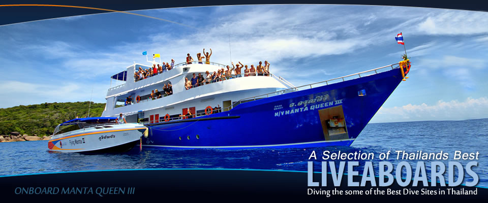 Similan Thailand Dive and Liveaboards with Manta Queen 3