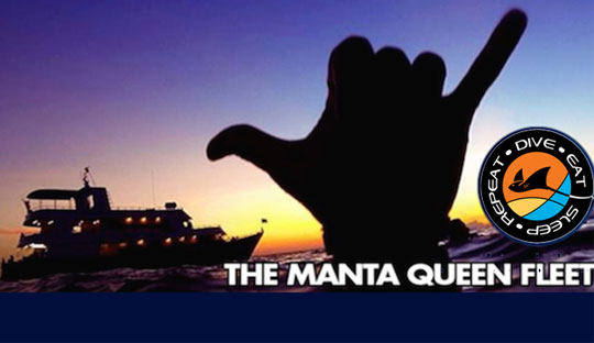 The Manta queen fleet